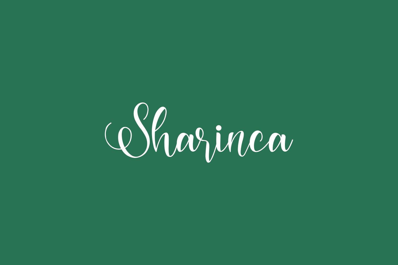 Sharinca Free Font