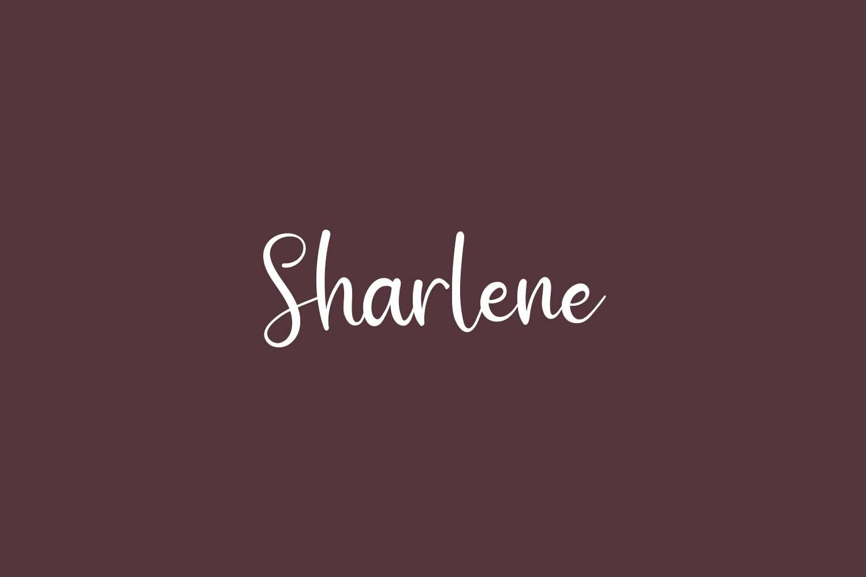Sharlene Free Font