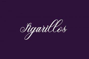 Sigarillos Free Font