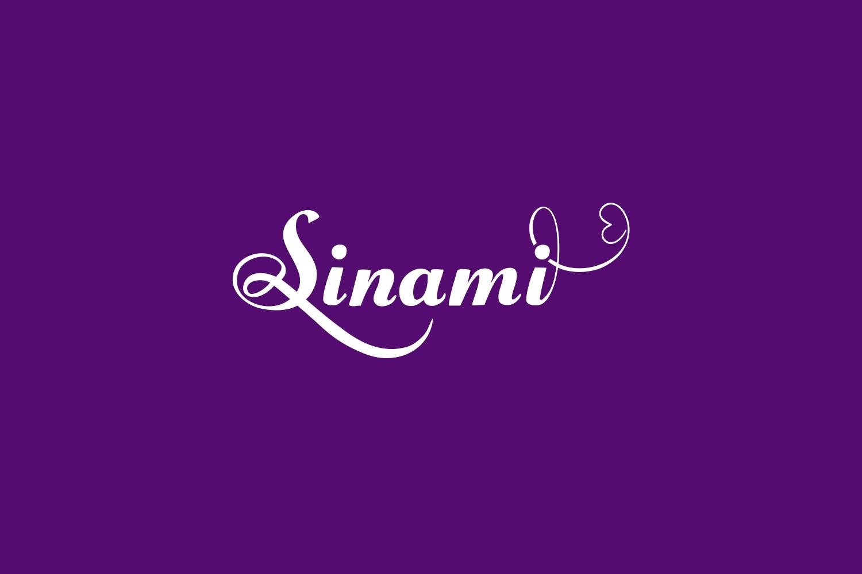 Sinami Free Font