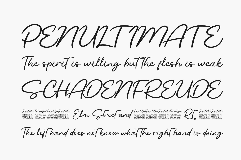 Sodiqin Free Font