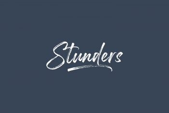 Stunders Free Font