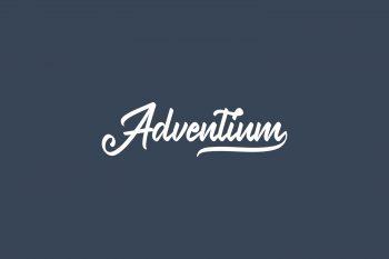Adventium Free Font