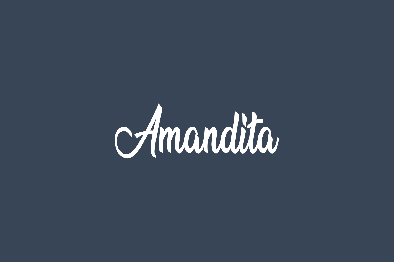 Amandita Free Font