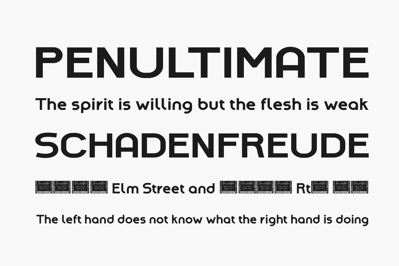 Amenable Free Font