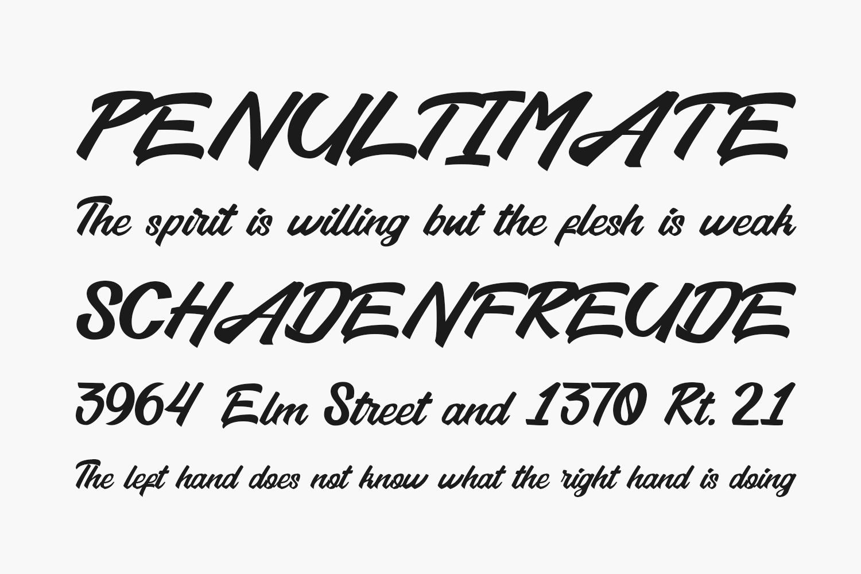 Amigdala Free Font