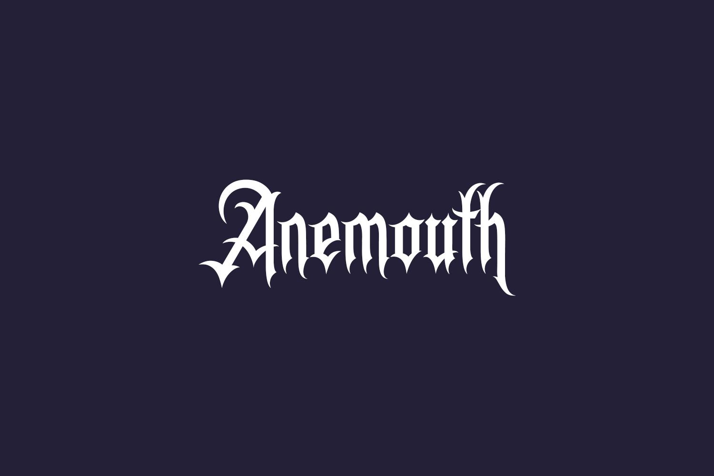 Anemouth Free Font