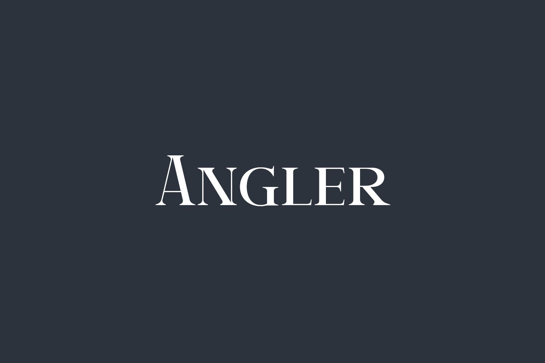 Angler Free Font