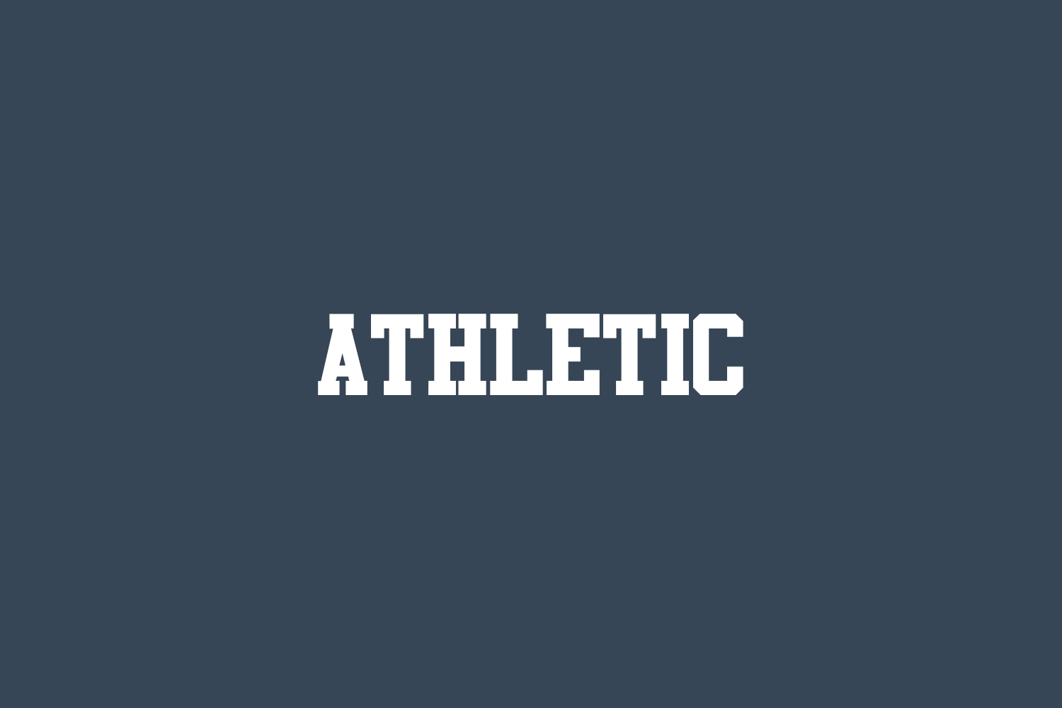 Athletic Free Font