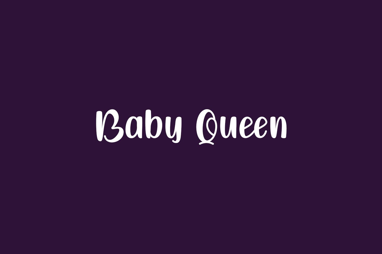 Baby Queen Free Font