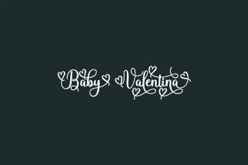 Baby Valentina Free Font