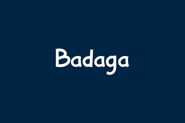 Badaga Free Font