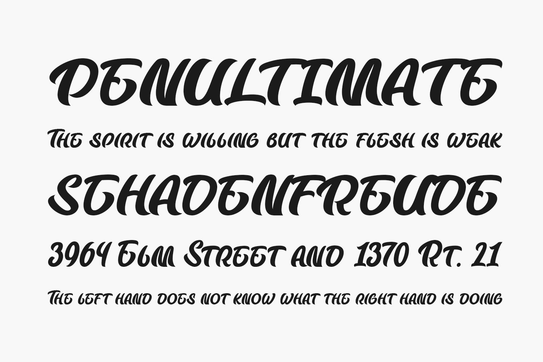 Badfury Free Font