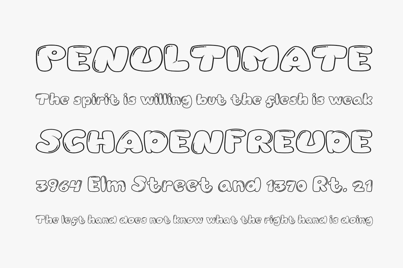 Balonku Free Font