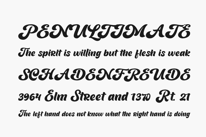 Barqish Free Font