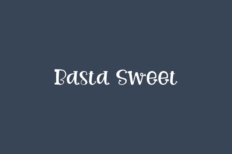 Basta Sweet Free Font