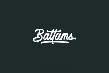 Battams Free Font