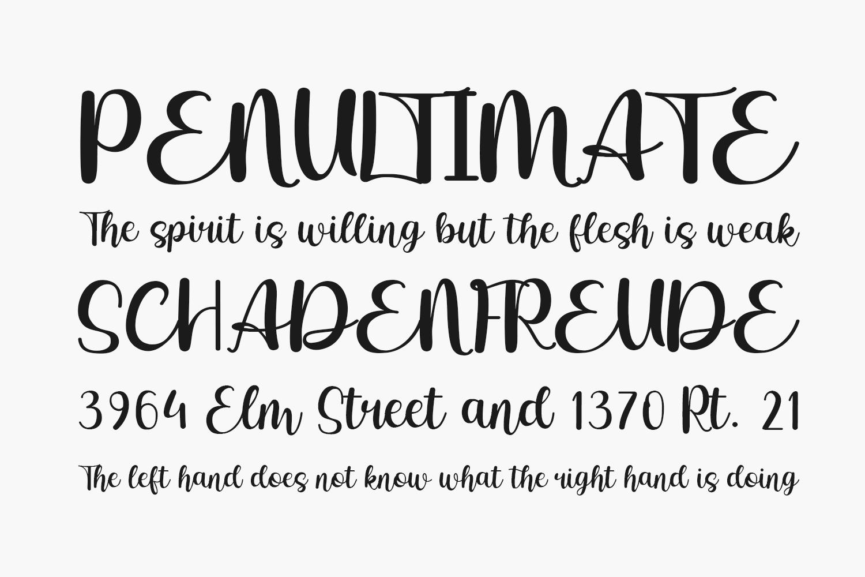 Betharia Classy Free Font