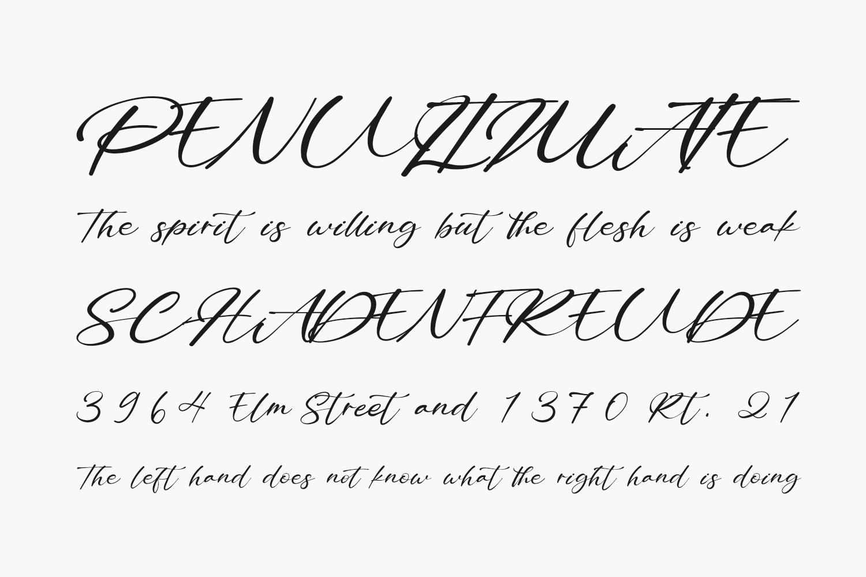 Bitley Anthem Free Font