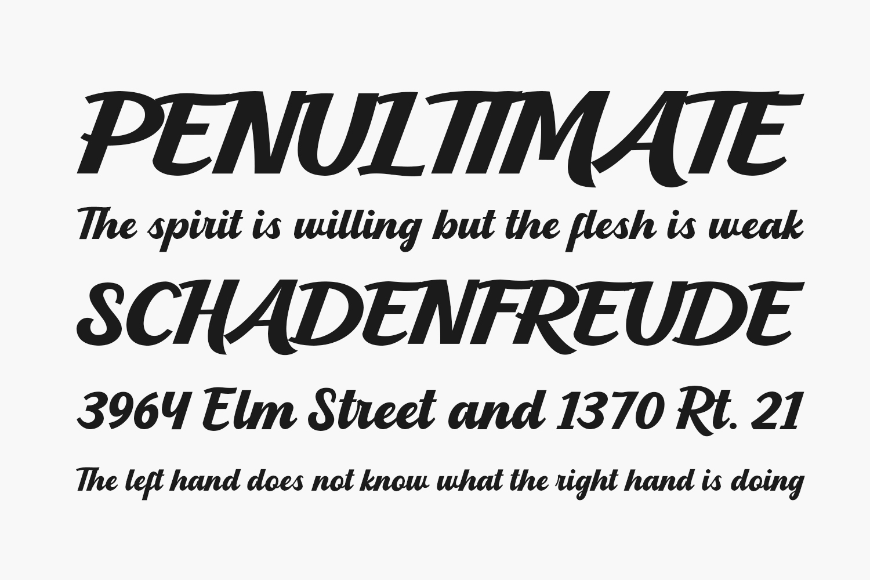 Blanderman Free Font