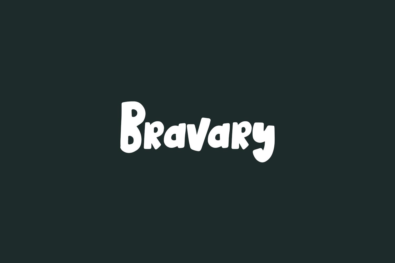 Bravary Free Font