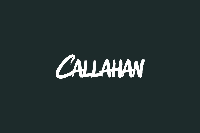 Callahan Free Font