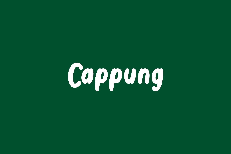 Cappung Free Font