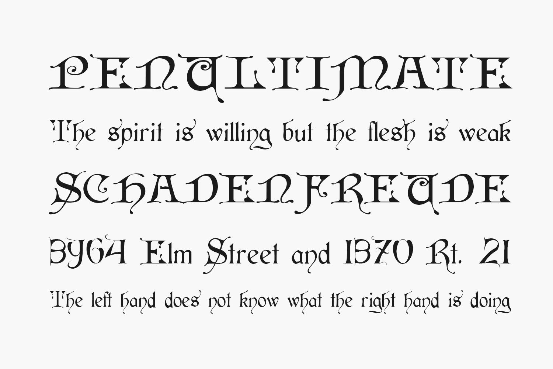 Cardinal Free Font