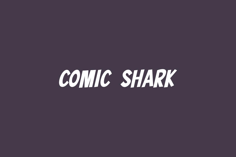 Comic Shark Free Font