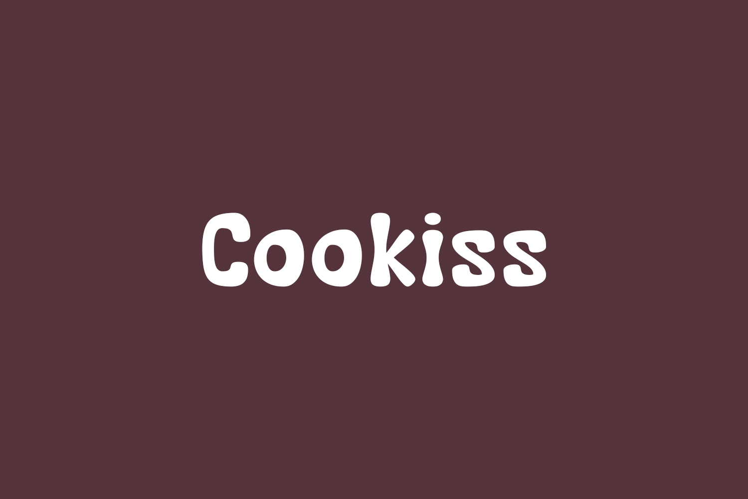 Cookiss Free Font