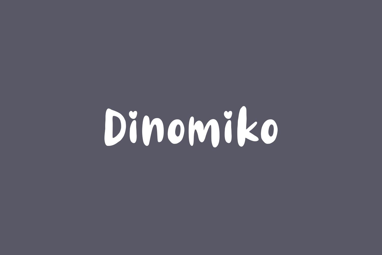 Dinomiko Free Font