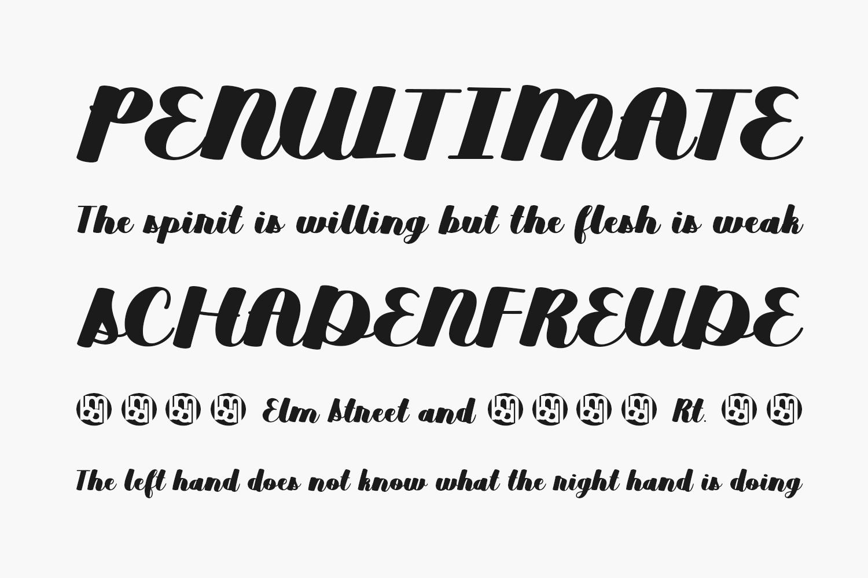 Duckpond Free Font