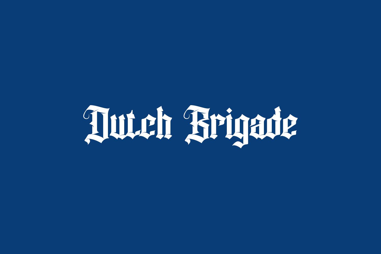 Dutch Brigade Free Font