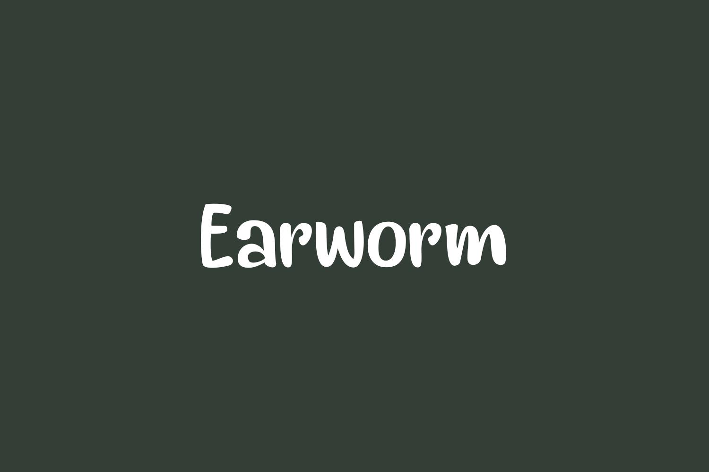 Earworm Free Font