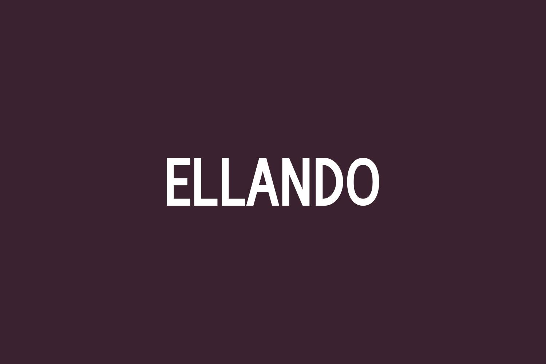 Ellando Free Font