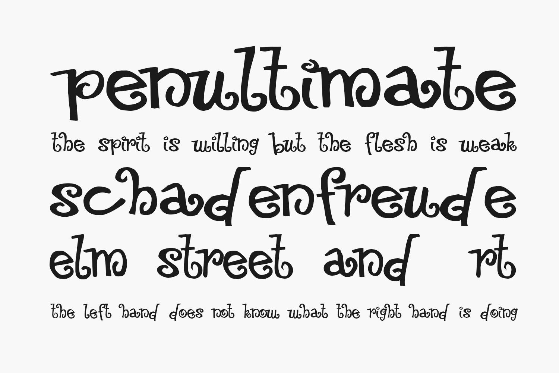 Floozy Free Font