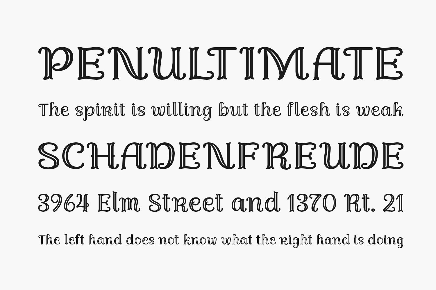 Fondacy Carved Free Font