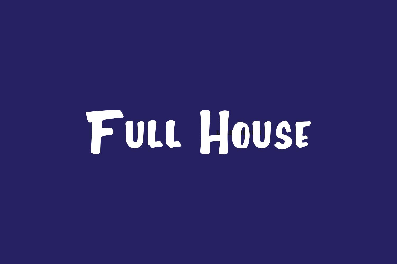 Full House Free Font