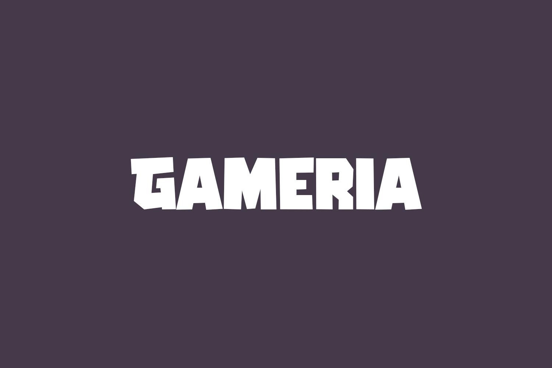 Gameria Free Font