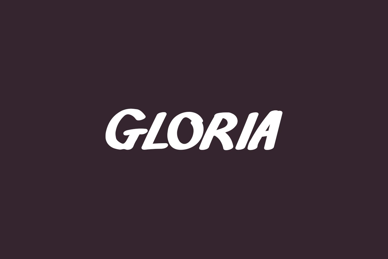 Gloria Free Font
