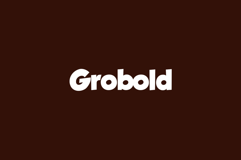 Grobold Free Font