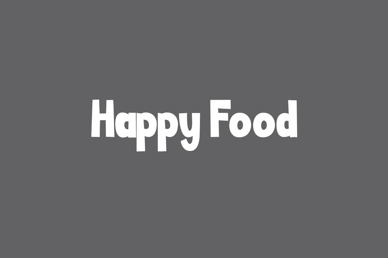 Happy Food Free Font