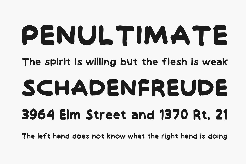 Hello Funyla Free Font