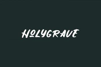 Holygrave Free Font