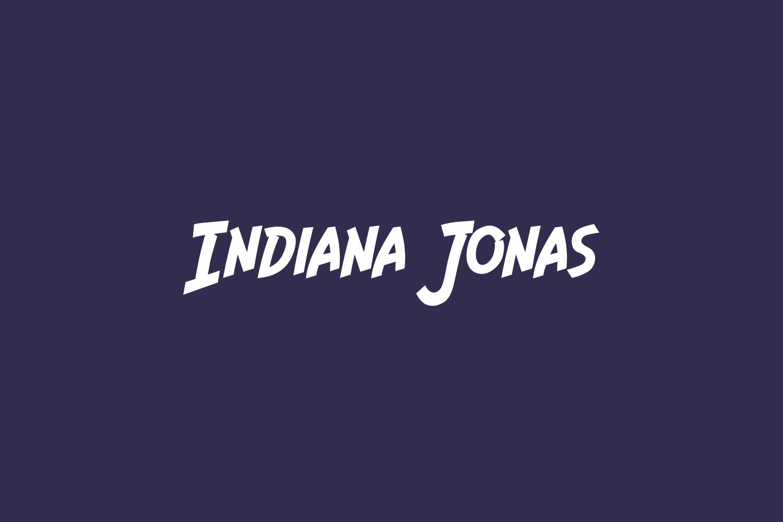 Indiana Jonas Free Font