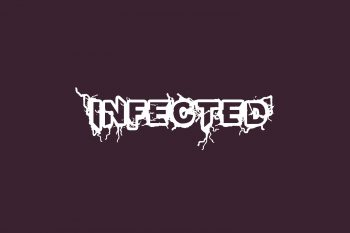 Infected Free Font