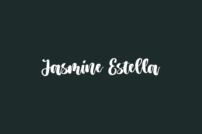 Jasmine Estella Free Font