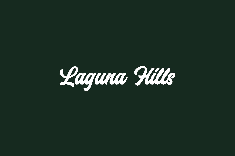 Laguna Hills Free Font