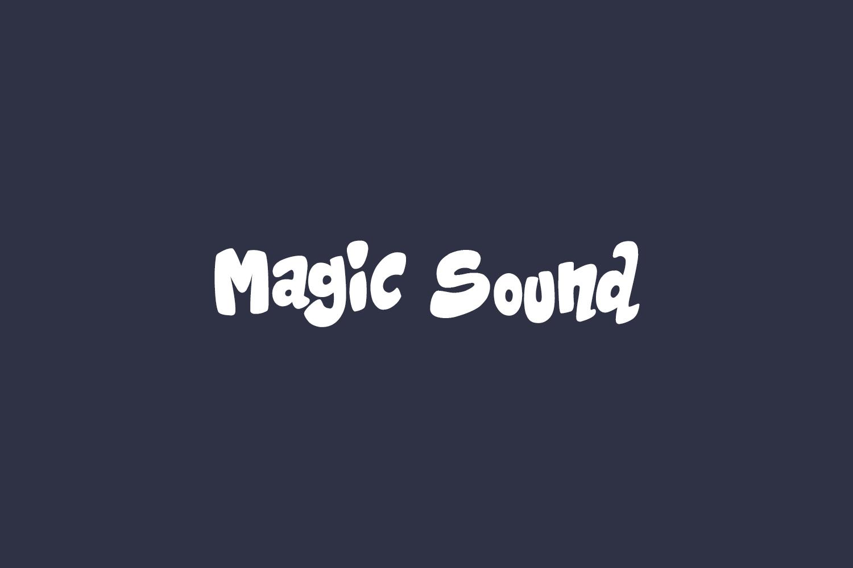 Magic Sound Free Font
