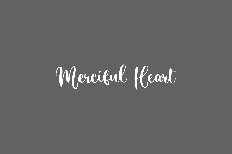 Merciful Heart Free Font